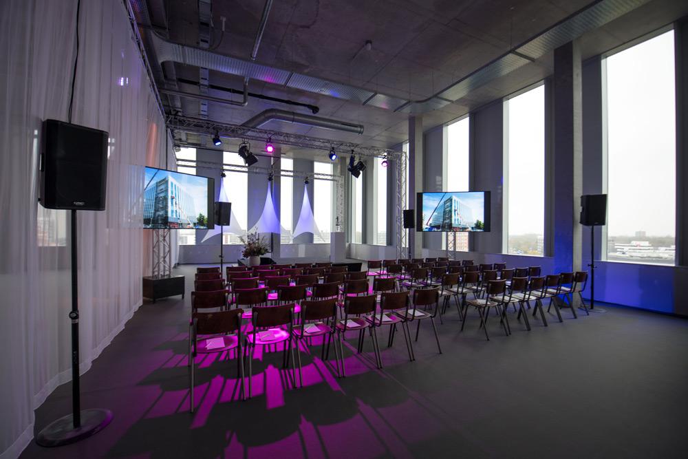 Techniek voor congressen en conferenties
